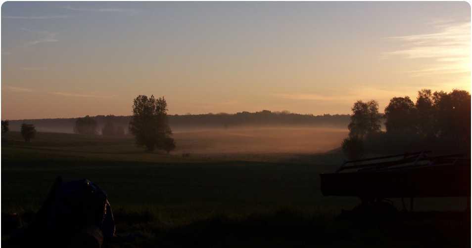 Sonnenaufgang in Hildebrandshagen